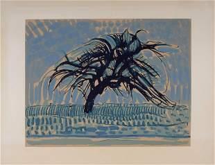 Piet Mondrian - Arbre bleu, 1911 (1957)