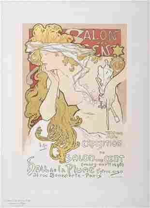 Alphonse Mucha - Salon des Cent, 1897