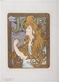 Mucha - Job, Les Maitres de l Affiche, C1899