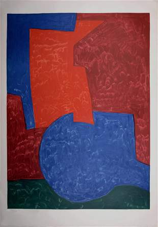 Poliakoff (After) Composition Red Blue Green 1975