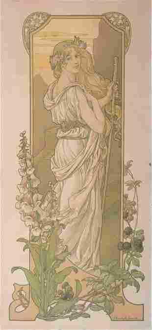 Elisabeth Sonrel - Fleurs des Champs, C. 1901