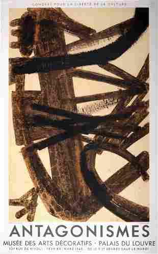 Pierre Soulages - Antagonismes, 1960