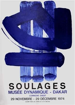 Pierre Soulages - Musee Dynamique-Dakar, 1974