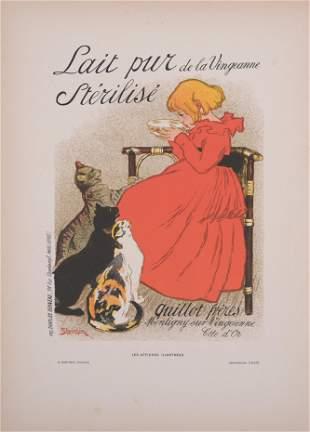 Steinlen - Lait pur de la Vingeanne, 1896