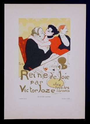 Henri de Toulouse-Lautrec - Reine de Joie, 1896
