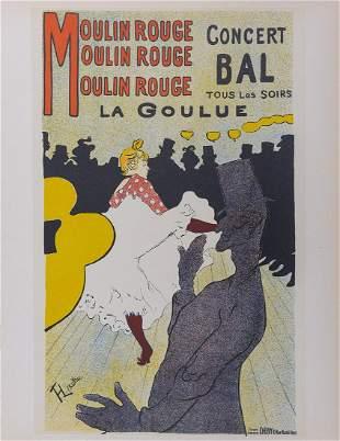 Toulouse-Lautrec (After) - La Goulue, 1964