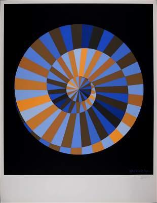 Vasarely - Olympia, Original first printing, 1971
