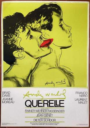 Andy Warhol - Querelle, 1982
