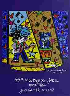 Romero Britto - 44 Montreux Jazz Festival, 2010