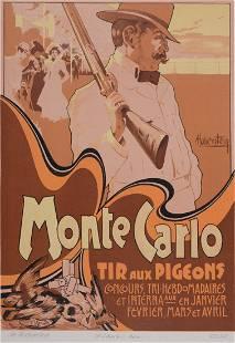Adolfo Hohenstein - Ricordi : Monte Carlo, 1914