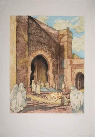 Alméry Lobel-Riche - Rabat, les Oudaïas, C. 1920