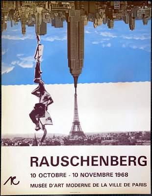 Rauschenberg - Musee Art Moderne Paris 1968
