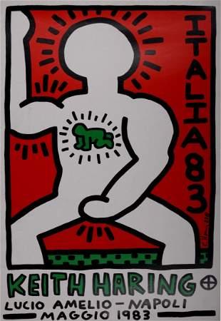 Keith Haring - Lucio Amelio Napoli, 1983