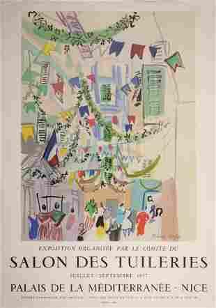 Raoul Dufy -Salon des Tuileries, 1957