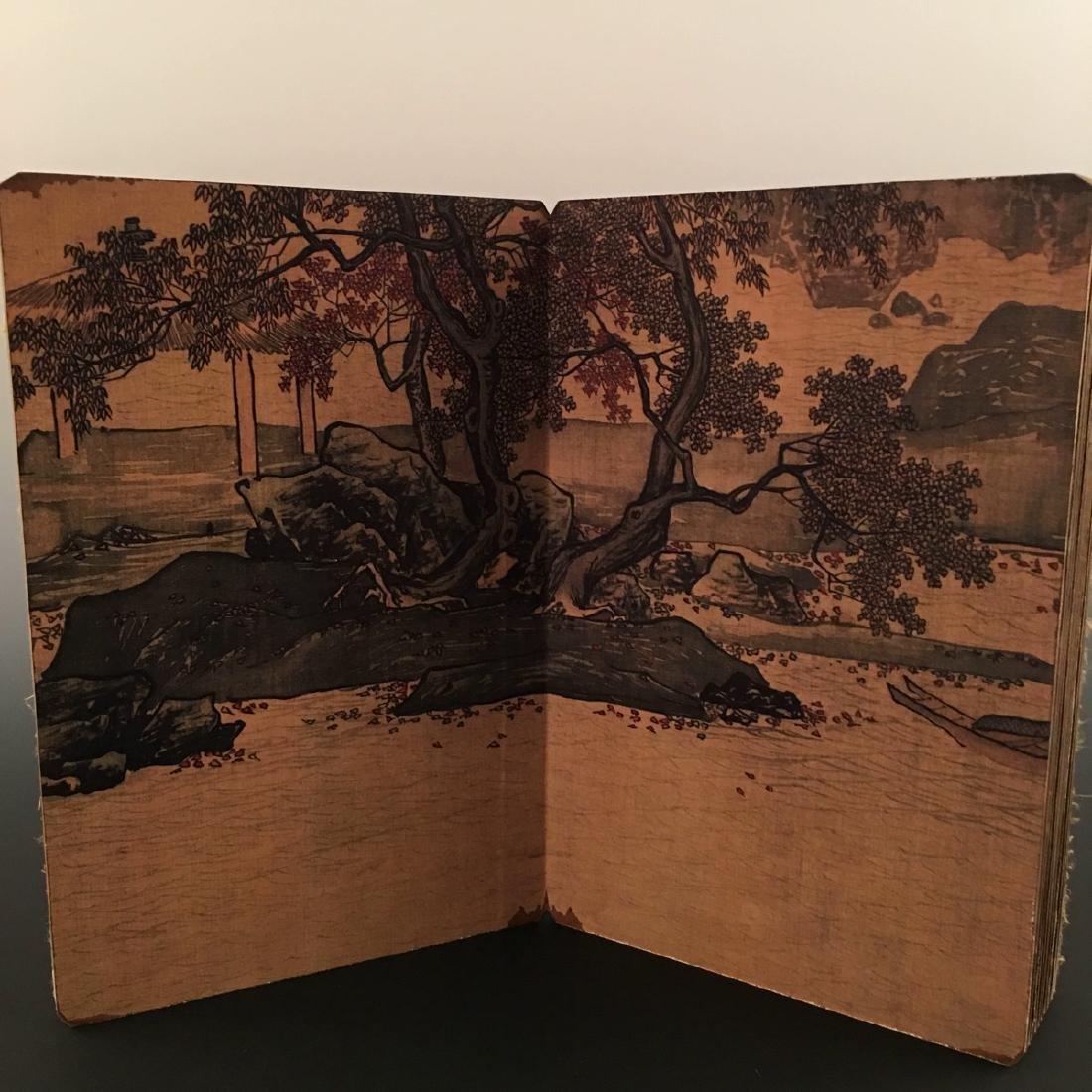 """Chinese Folding Album of Painting Of """"Xi Shan Yu Yin"""" - 10"""