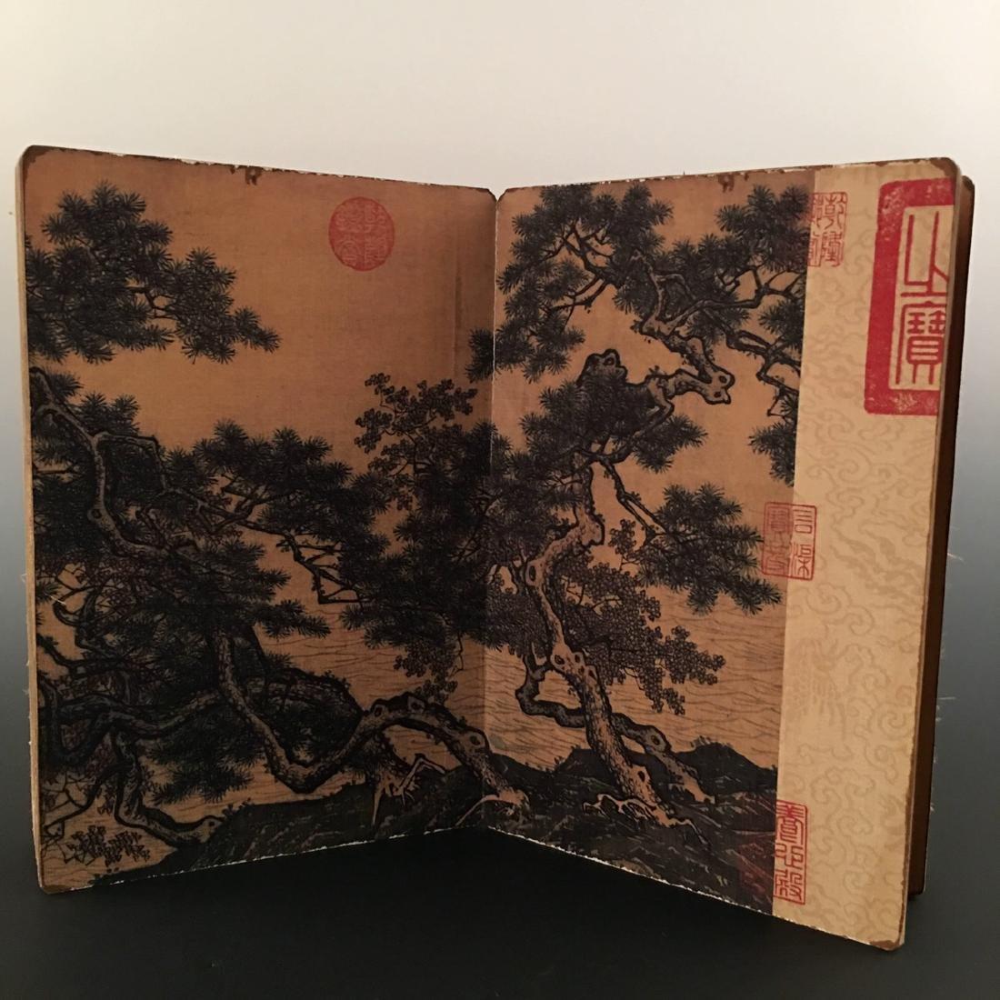 """Chinese Folding Album of Painting Of """"Xi Shan Yu Yin"""" - 3"""