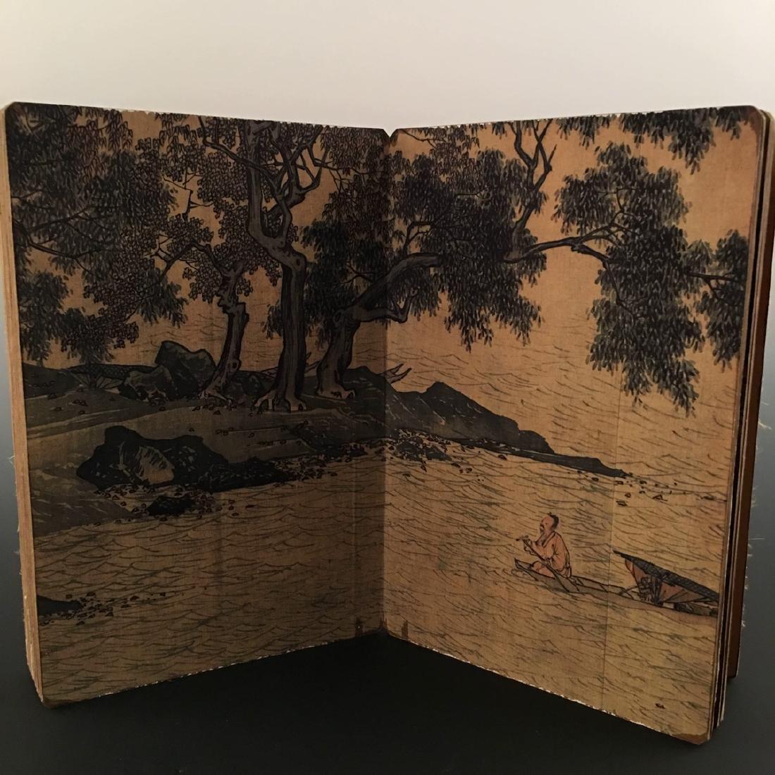 """Chinese Folding Album of Painting Of """"Xi Shan Yu Yin"""" - 5"""