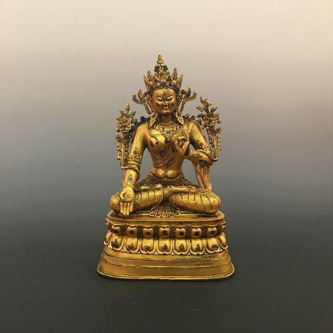 Chinese Bronze Buddhist Statue
