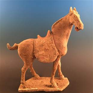 Chinese Pottery 'Horse' Figure Ornament