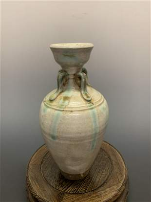 Chinese Tan Dynasty Clear-Glazed Water Pot