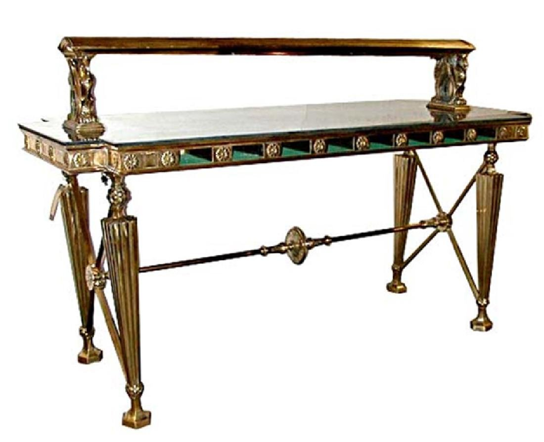 5625 American Turn-of-the-Century Gorham Bank Table
