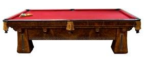 "6254 Antique Brunswick Four-Legged ""Kling"" Table"
