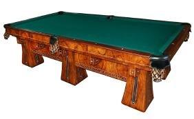 "6928 Antique Brunswick Six-Legged ""Kling"" Table"