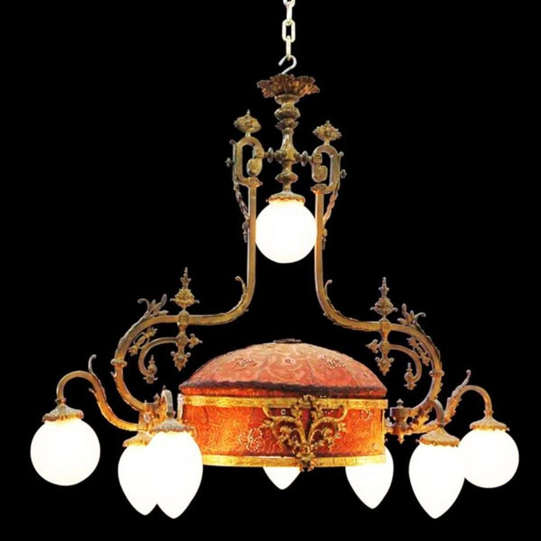 Antique 19th C. French Rococo Chandelier