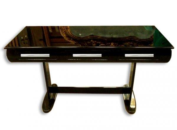 23: 7022 Art Deco Desk with French Polish Finish