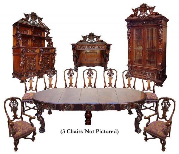 26: 6472 16-Pc. R.J. Horner European Rococo Dining Set