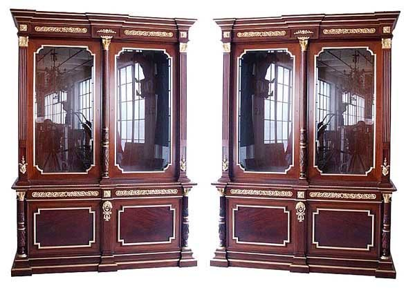 1068: 23.5790 Beautiful Pair of Antique French Empire B