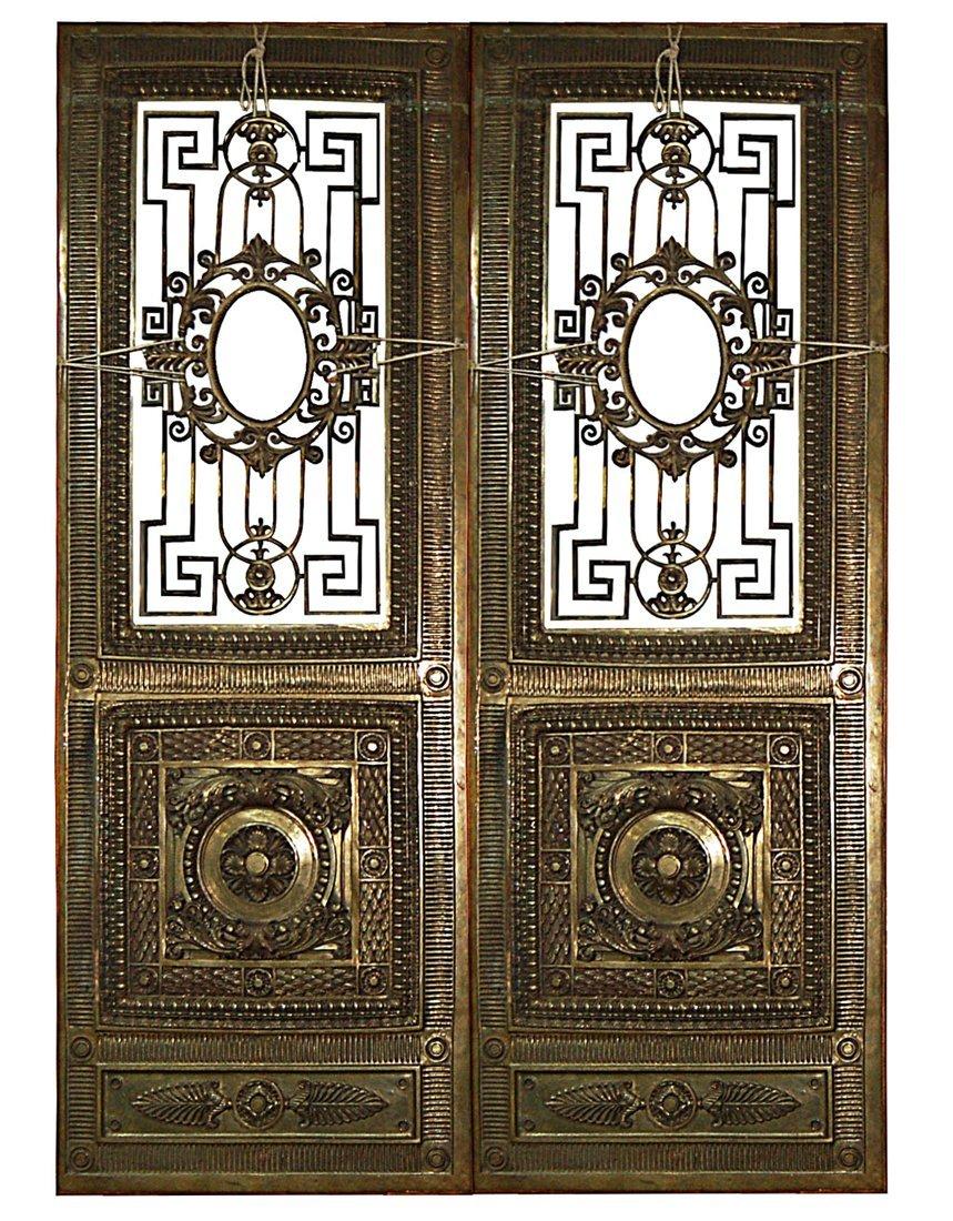 10559 Bronze Doors by Winslow Bros.