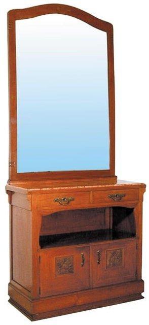 1258 Transitional Craftsman/Art Nouveau Hall Piece
