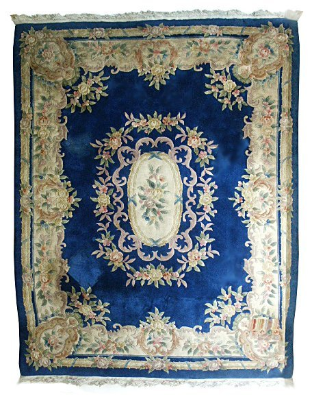 5841 Large Chinese Rug with Decorative Pattern