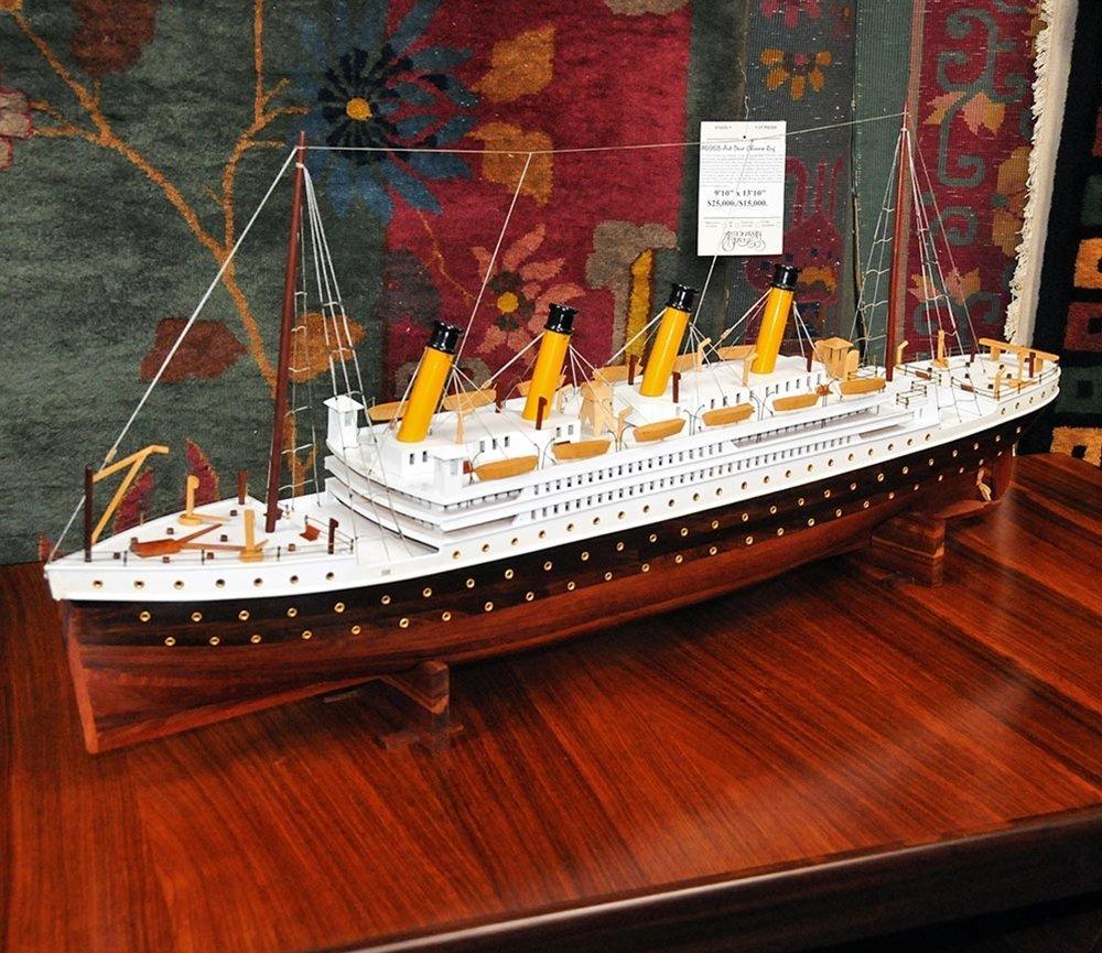 5508 Beautiful Model of the Titanic c. 1920
