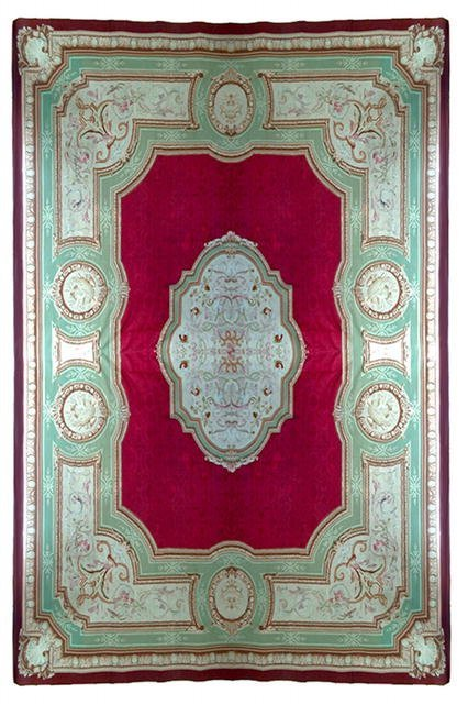 357 Fabulous French 19th C. Aubusson Palace Rug