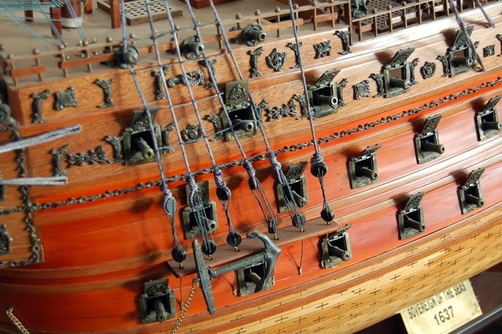 7557 Ship Model - The Sovereign of the Seas 1637 - 4