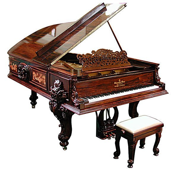 5535 Steinway Centennial Model D Concert Grand Piano