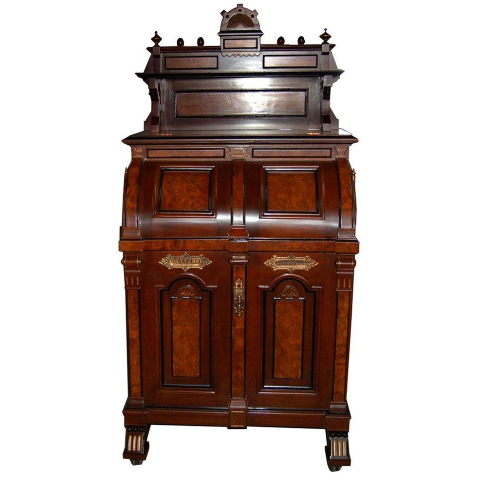 "1528 Wooton ""Ladies Model"" Patent Secretary Desk"