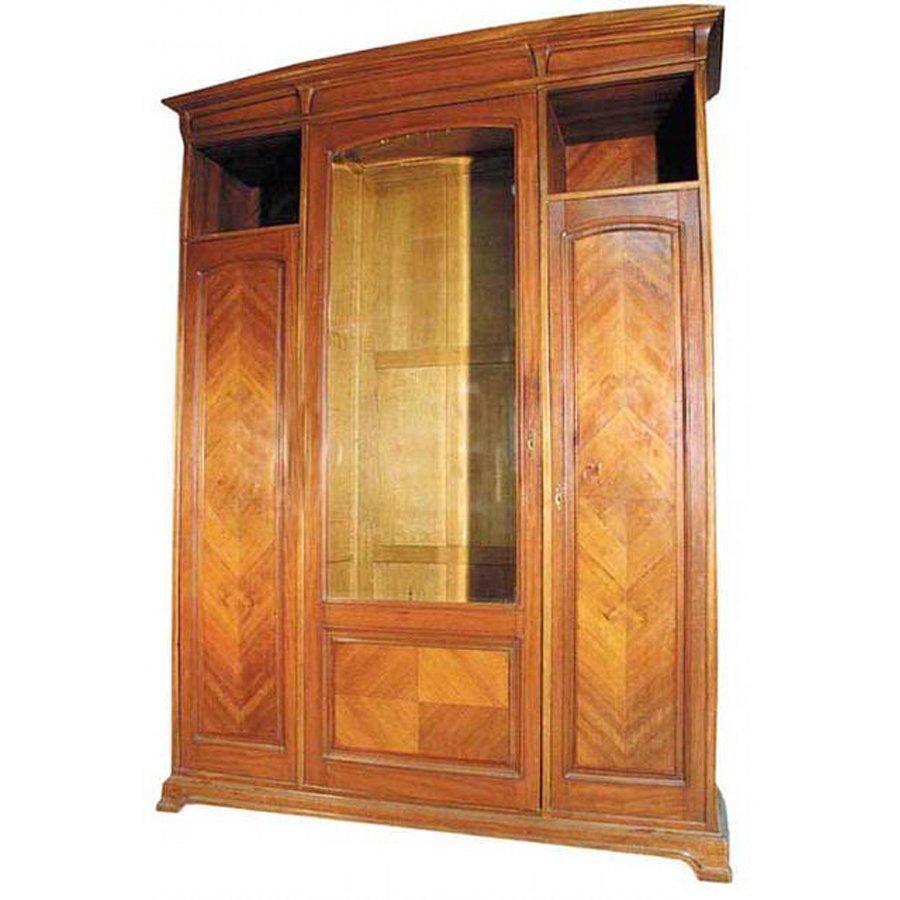 1349 Beautiful Art Nouveau Cabinet by Louis Majorelle