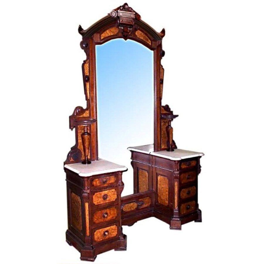 6747 19th C. American Victorian Dresser by T. Brooks