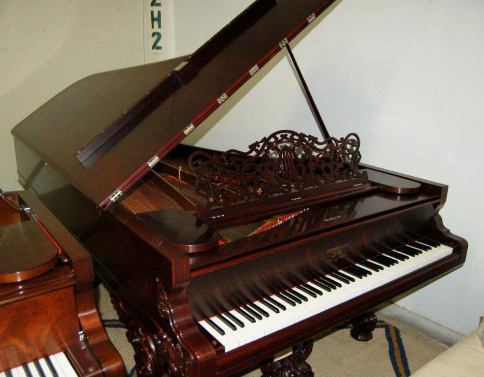 7152 Magnificent Antique Steinway Model B Grand Piano