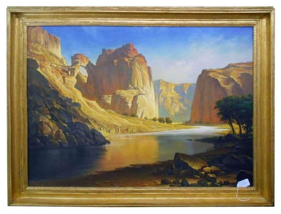 7890 Landscape Painting of Grand Canyon by W. Jennings