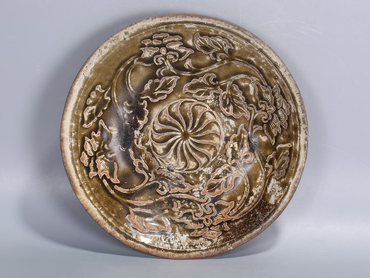 Chinese Song Dynasty brown tea bowl - 2