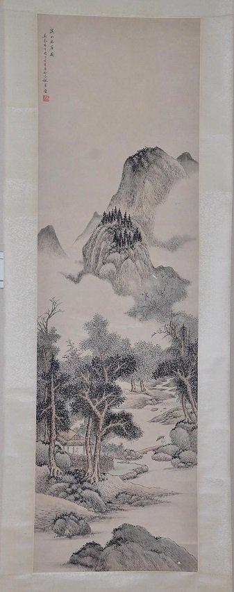 WU QINMU ( 1894 - 1953 ) CHINESE LANDSCAPE PAINTING