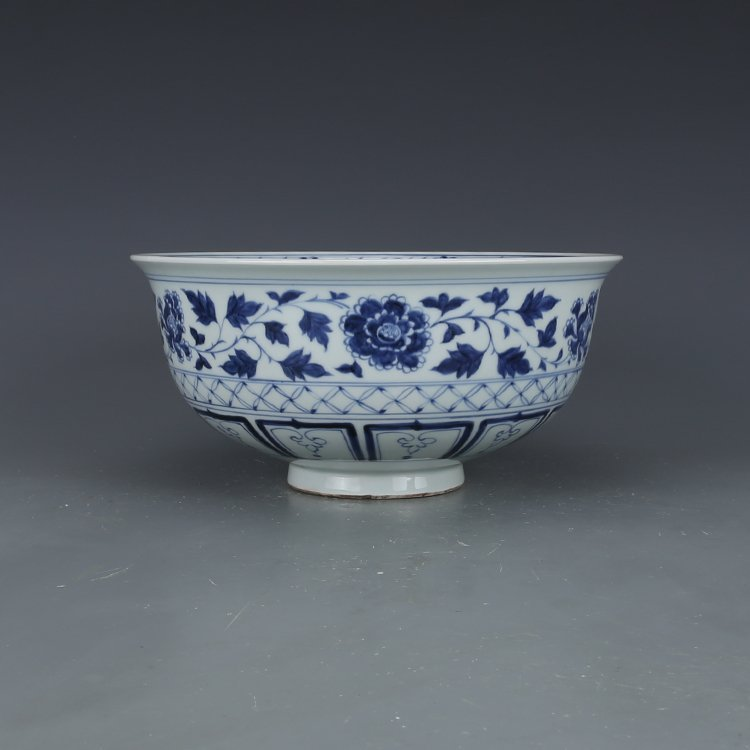 China Ming Dynasty Blue and White Bowl