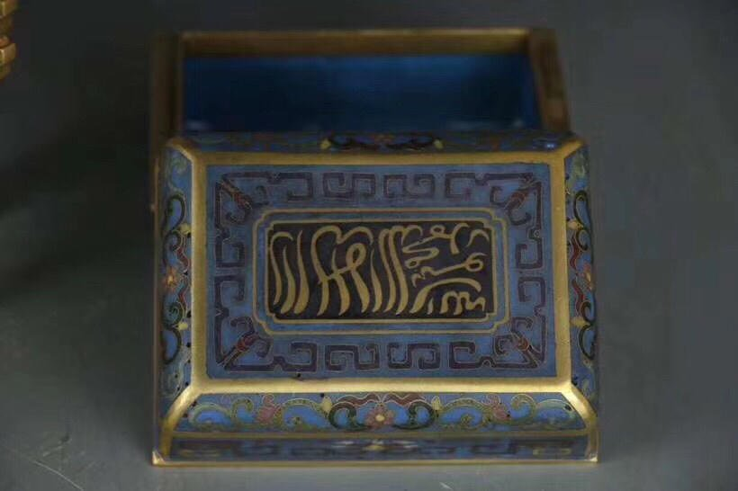 A Chinese Cloisonne Enamel Censer With Mark - 5