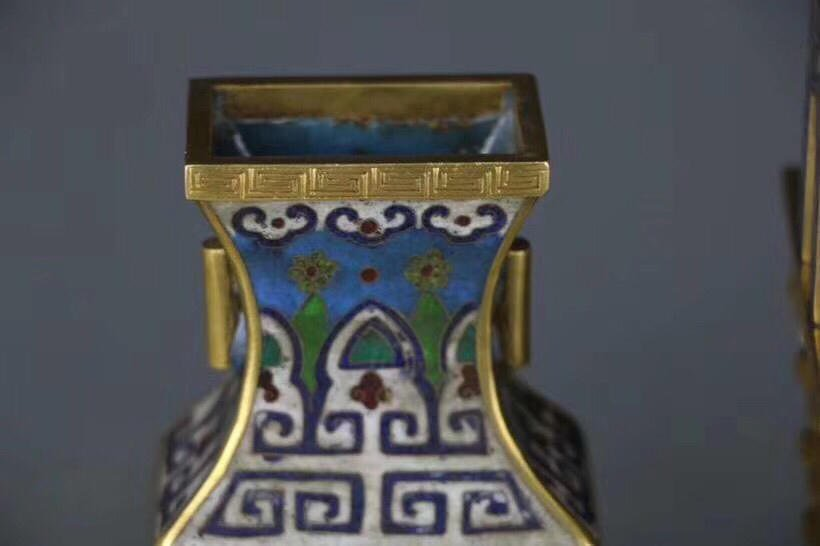 A Chinese Cloisonne Enamel Censer With Mark - 6