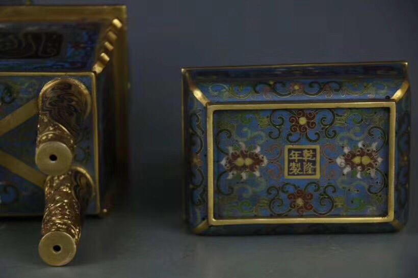 A Chinese Cloisonne Enamel Censer With Mark - 8