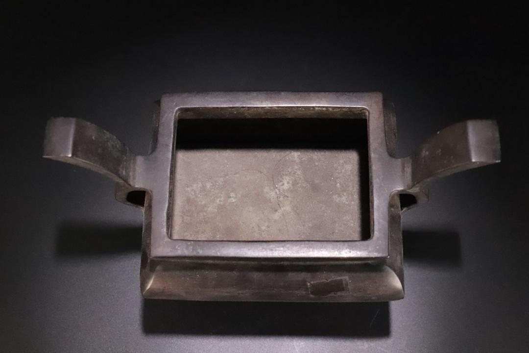 Ming Dynasty Copper Ding Style Incense Burner - 5